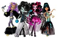 Monster High version Halloween
