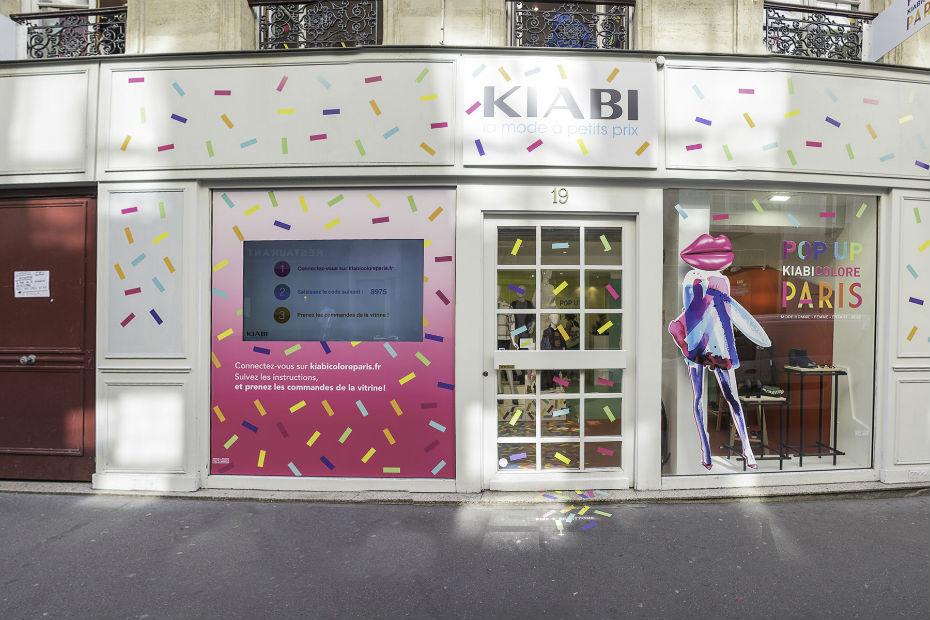 kiabi se r invente en pop up store parisien textile habillement. Black Bedroom Furniture Sets. Home Design Ideas