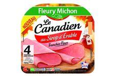 Jambons sucrés-salés de Fleury Michon
