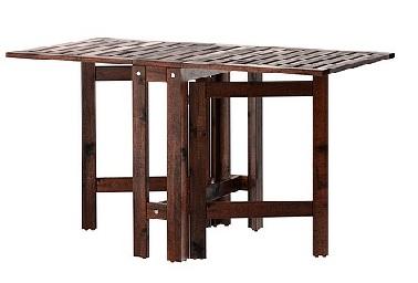 la table abattants pplar d ikea de ikea. Black Bedroom Furniture Sets. Home Design Ideas