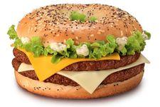 Le Grand Bagel Cheese McDonald's