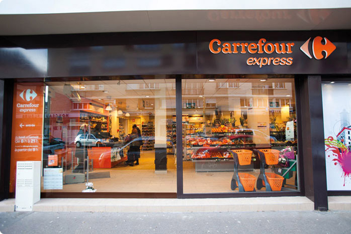 pour carrefour  la transformation de dia