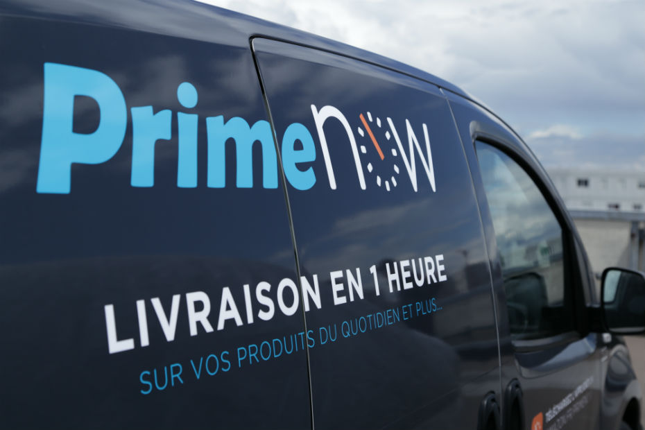 Amazon Prime Now Debarque A Paris Avec Sa