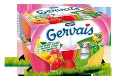 Gervais aux fruits de Danone