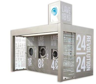 laverie automatique sur votre parking les dossiers lsa de la grande consommation. Black Bedroom Furniture Sets. Home Design Ideas