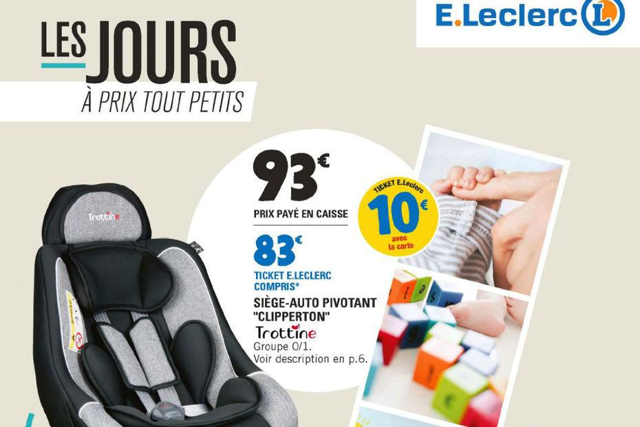 Lédition Du Catalogue ELeclerc Nutrition - Porte bébé leclerc