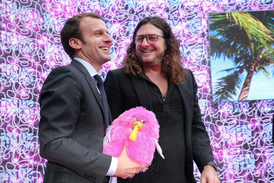 Emmanuel Macron Aux C T S Du P Dg De Vente