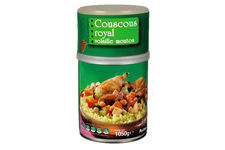 Couscous royal volaille et mouton Auchan