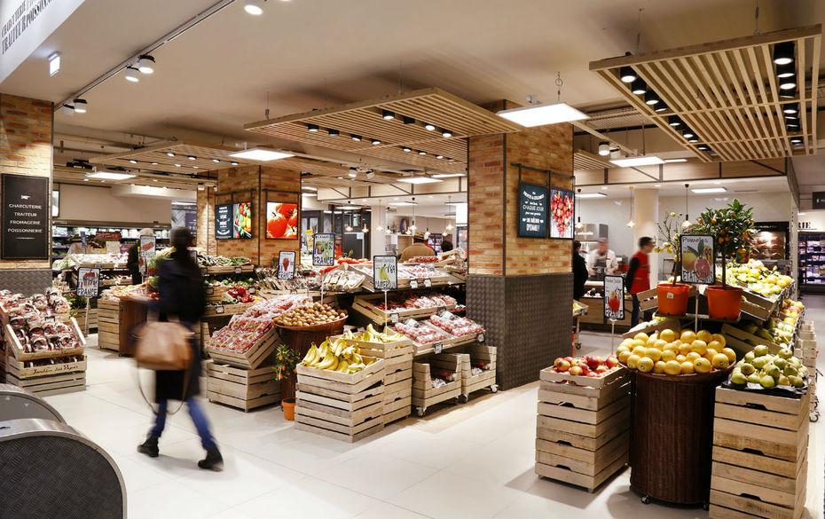 Le Nouveau Concept Premium De Carrefour Market