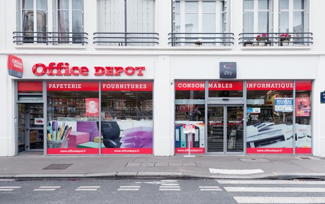 56 magasins office depot en france. Black Bedroom Furniture Sets. Home Design Ideas
