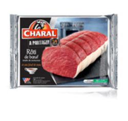 Le rôti de bœuf et son fond de veau Charal est un rôti familial de