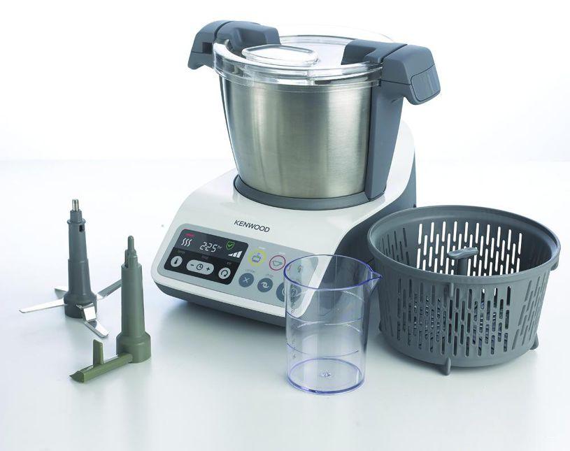 Kenwood d mocratise le robot cuiseur petit l ctrom nager - Nouveau robot cuiseur ...