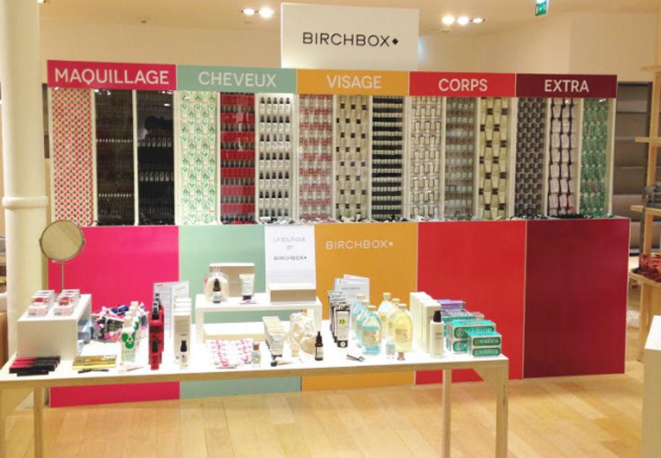 Birchbox s installe au bon march - Magasin bricolage montparnasse ...