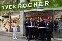 Yves Rocher Champs-Elysées : inauguration 2016