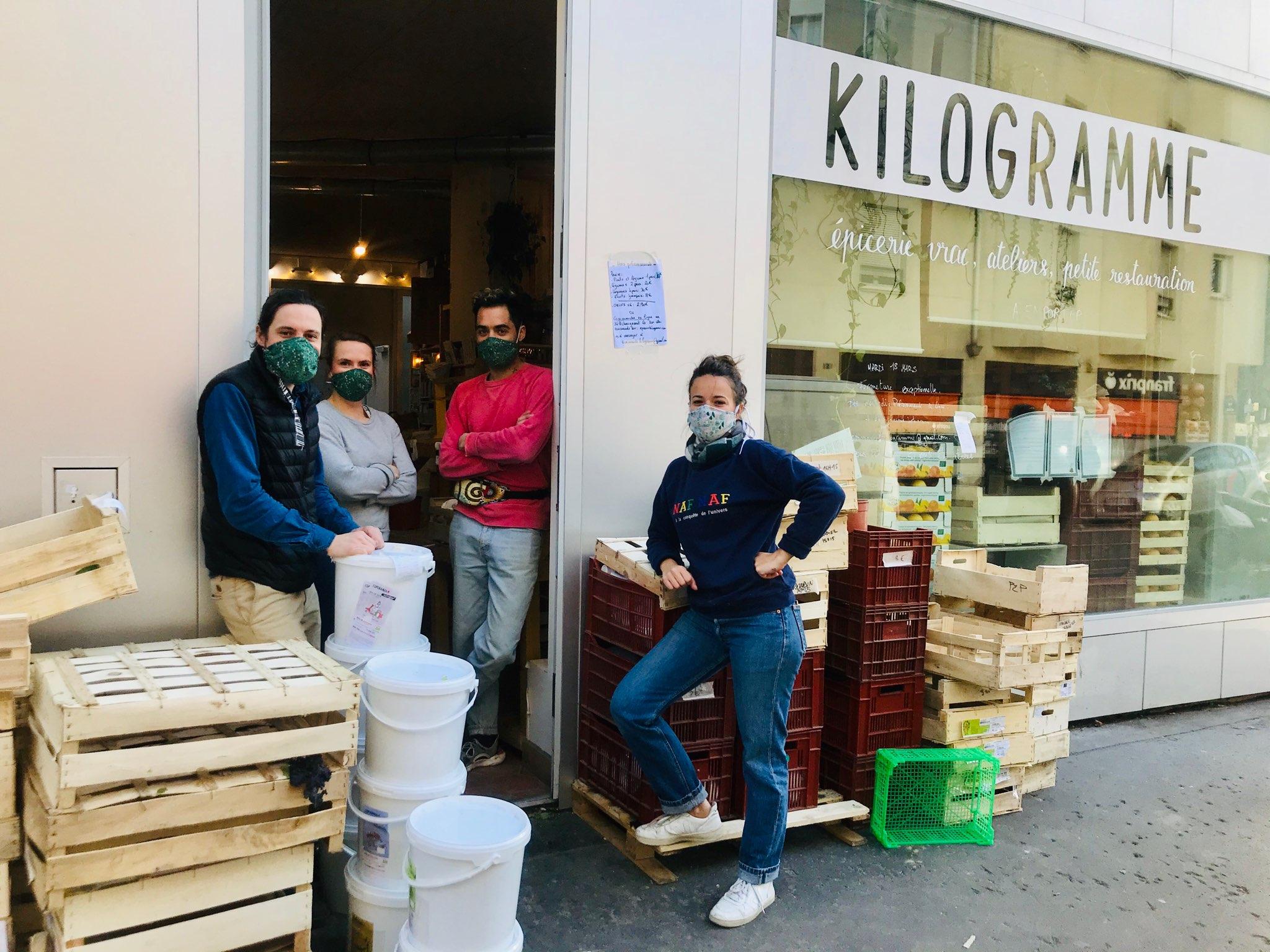 [Coronavirus] Kilogramme transforme son magasin de vrac pour affronter la crise