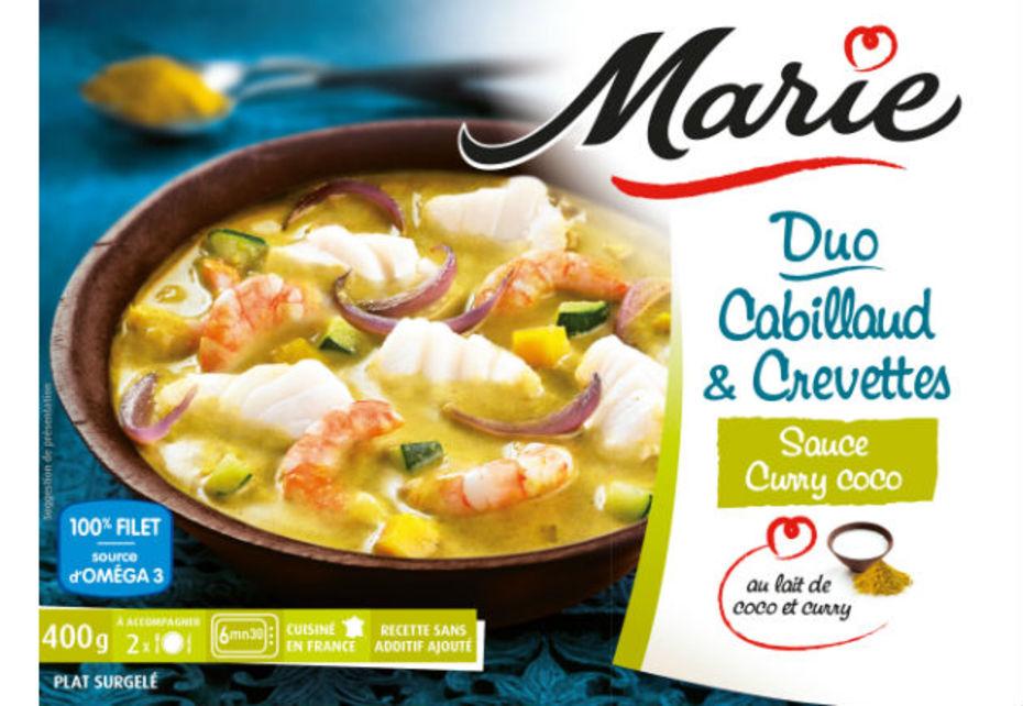 Marie Brise La Glace Sur Les Plats Cuisines Surgeles Sales