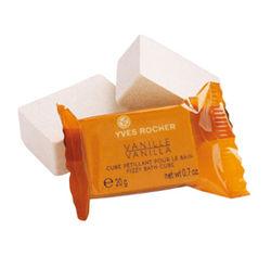 Cube Pétillant Vanille d'Yves Rocher