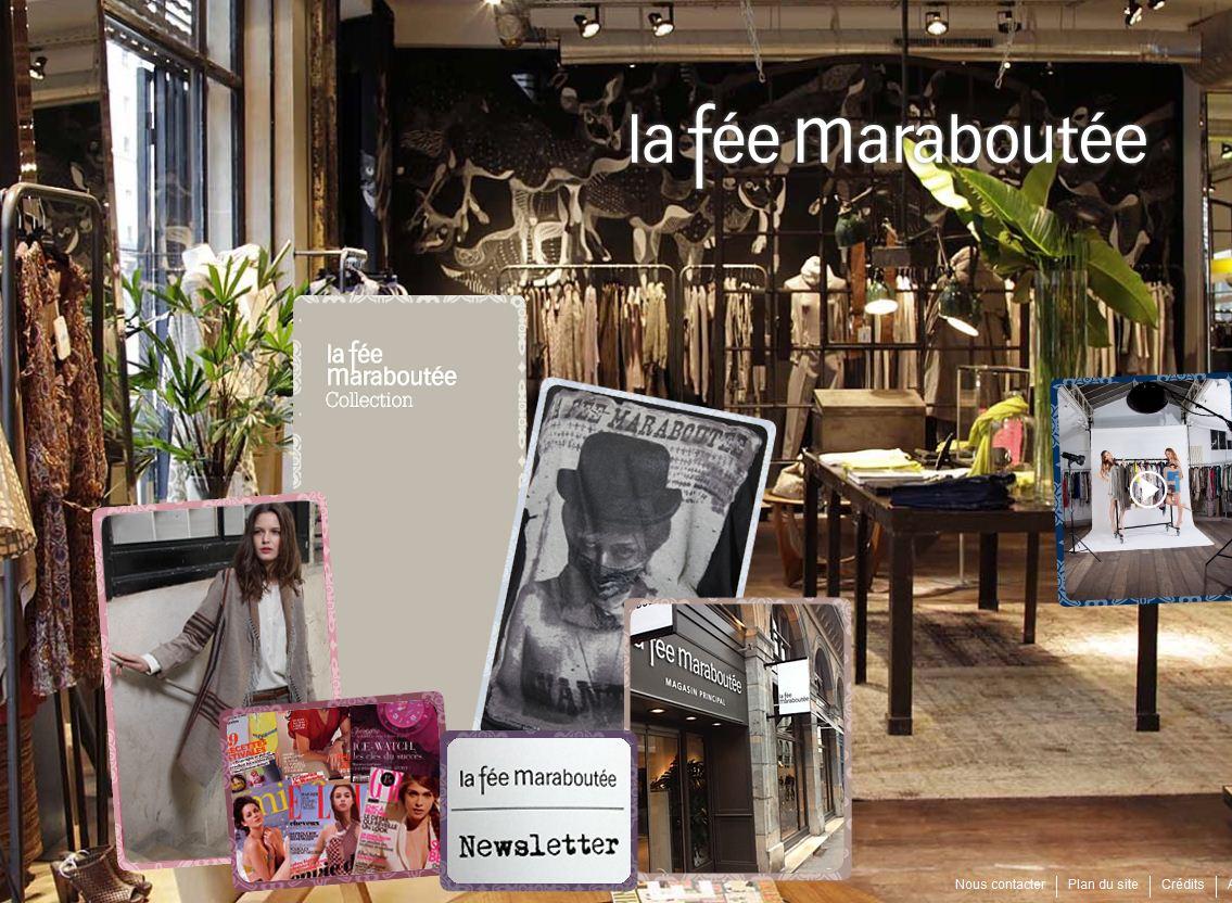 L enseigne la f e marabout e change de mains textile habillement - La fee maraboutee soldes ...