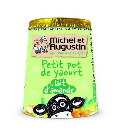 petit pot de yaourt au lait d amande de michel et augustin de michel et augustin