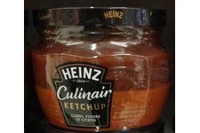 Culnair Ketchup de Heinz Curry, poivre et citron