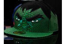5b80af8eb77fc La casquette en édition limitée « Hulk – collection Avengers » de New Era