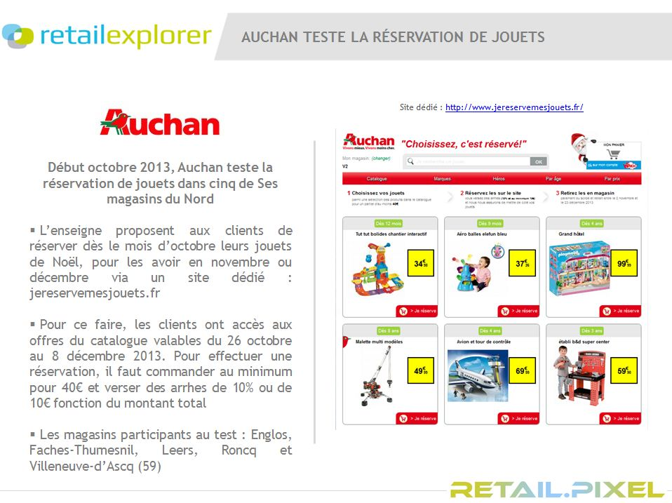 La campagne digitale lsa de la semaine avec auchan loisirs culture - Catalogue auchan leers ...