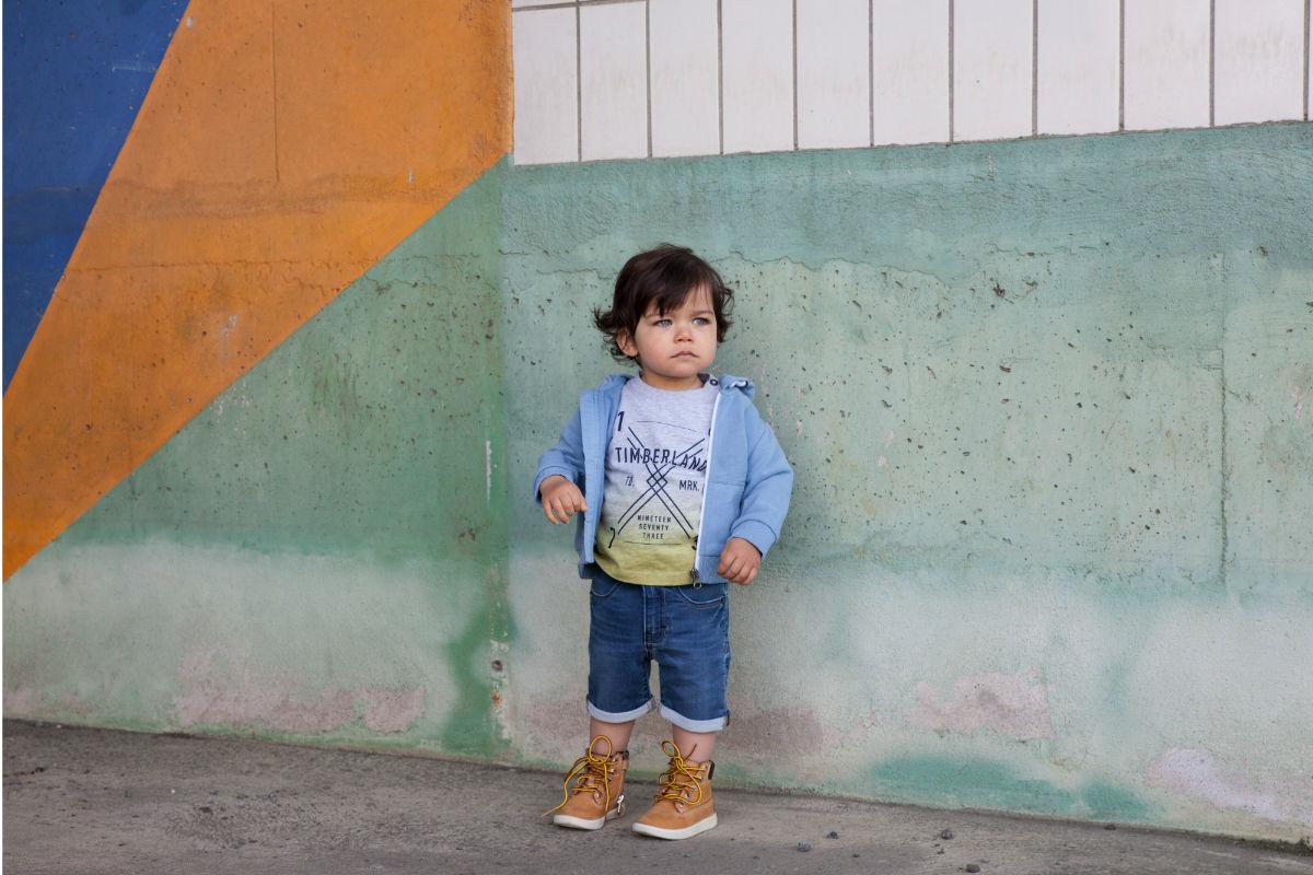 Textile enfant : Timberland développe ses mode enfantine