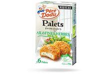 Palets fromagers ail & fines herbes de Père Dodu