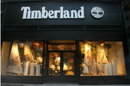 Timberland propose un magasin connecté