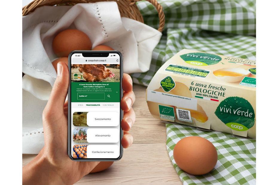 Avec CoopChain, les consommateurs peuvent vérifier la fraîcheur de leurs œufs