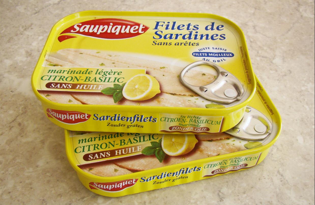Sardine saupiquet de saupiquet - Conserve de sardines maison ...