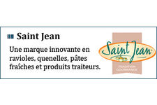 Poêlée de ravioles, émincés de poulet et champignons de Paris sauce aux morilles Saint Jean