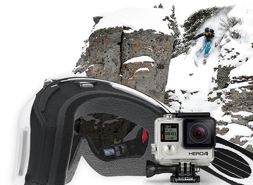 De Oakley Masque Gopro Le Ski À La Connecte hQrdts