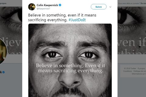 La campagne de Nike pour célébrer les 30 ans de son slogan Just do it est 523148b0a9a7
