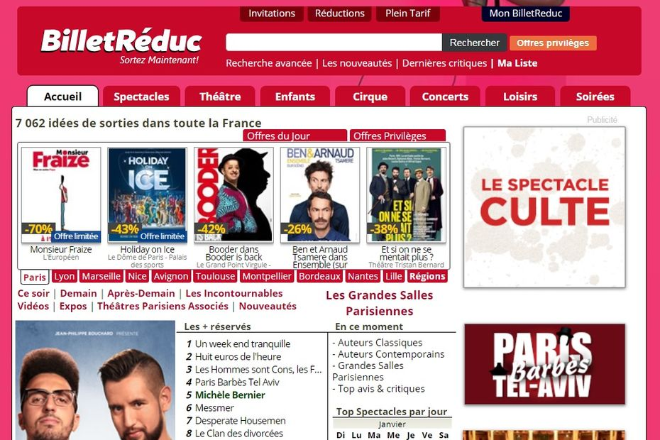 France Billet (Fnac Darty) va racheter Billetreduc.com à Lagardère
