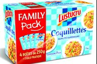 3073190010781 Lustucru Family Pack Coquillettes 1K