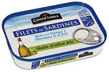 Filets de Sardines à l'huile d''olive Connétable