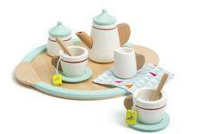Le service à thé en bois cook d'Oxybul éveil et jeux