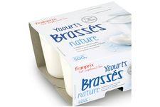 Yaourts brassés nature, au lait entier de Franprix