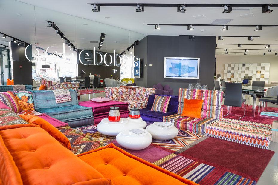 un premier magasin roche bobois en afrique du sud march maison. Black Bedroom Furniture Sets. Home Design Ideas