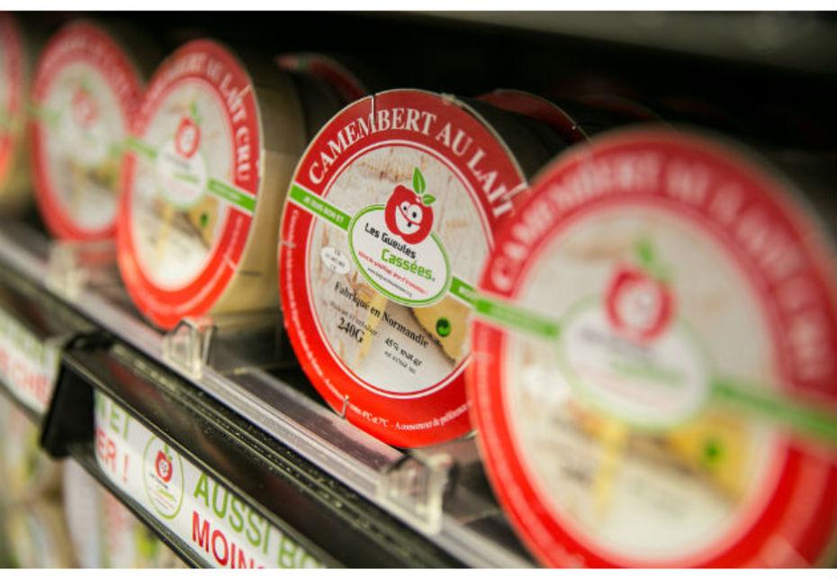 Les camemberts moches des Gueules Cassées sont déployés dans tous les magasins Carrefour