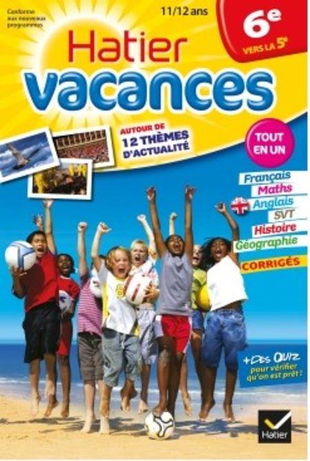 cahier de vacances 6eme