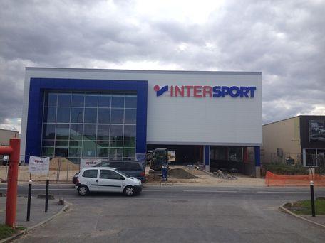 intersport ouvre un magasin aujourd'hui à
