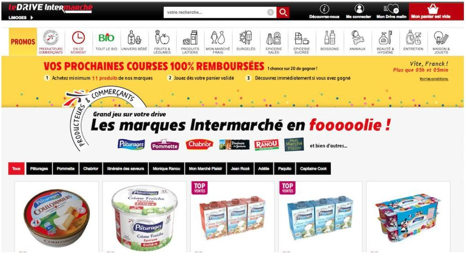 intermarché drive promotions