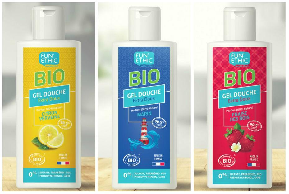 74ce01d4fd4 Fun Ethic a étendu son offre avec des gels douche bio aux formules 100%