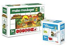 Le coffret « Le monde des dinosaures – Mako Moulages » de Mako Créations