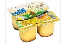 Flan Vanille Bio au Nappage Caramel de Malo
