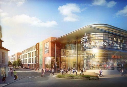 Le centre de jeu de paume a pos sa premi re - Nouveau centre commercial amiens nord ...