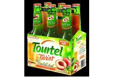 Le jus de pêch Tourtel Twist