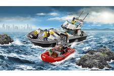 Le bateau de patrouille de LEGO City